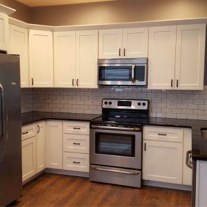 Contemporary Kitchen Work Area